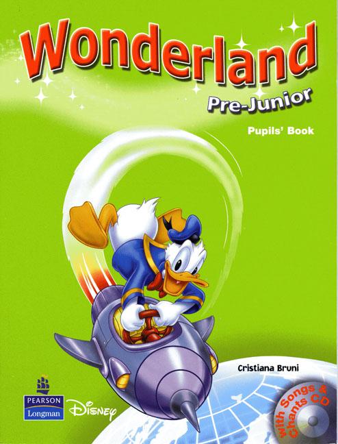 Wonderland Junior B Pupils Book
