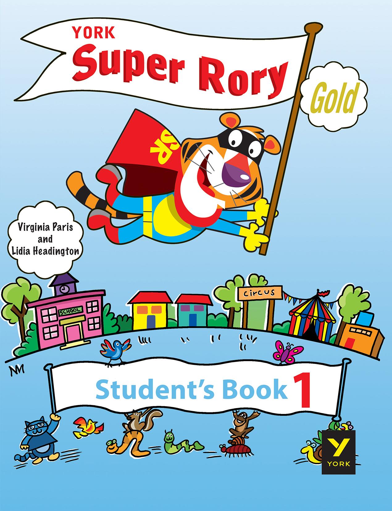 York Super Rory Gold